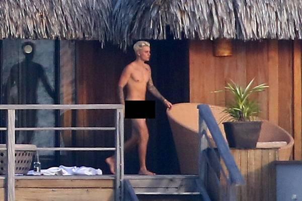 """Đây là lần đầu tiên cánh săn ảnh có được những tấm hình """"nóng"""" của Justin."""