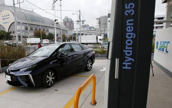 Ô tô chạy nhờ khí Hydro - tuyệt đối không phát thải ra môi trường.