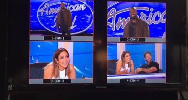 "Kanye West ""dự thi"" American Idol."