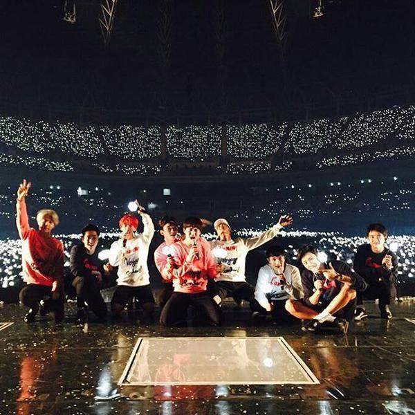 EXO đã có dome concert đầu tiên thành công của Kpop.