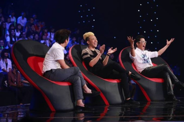 4 - Truong Giang bi chat chem khi nhac den Nha Phuong trong tiet muc cua Hari 1