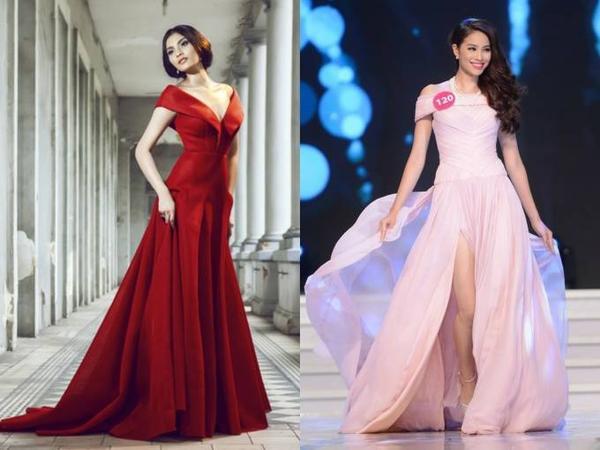 Trương Thị May đã quá tuổi để đi thi hoa hậu vào năm đó. Phạm Hương cũng là một trong những thí sinh lớn tuổi trong cuộc thi trong nước.