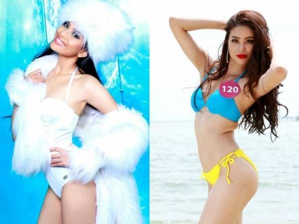 Trương Thị May chọn bikini hoàn toàn khác Phạm Hương.