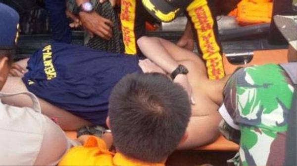 Fransiskus Subihardayan được tìm thấy trong tình trạng không còn quần áo trên người. Ảnh: Tribunnews.