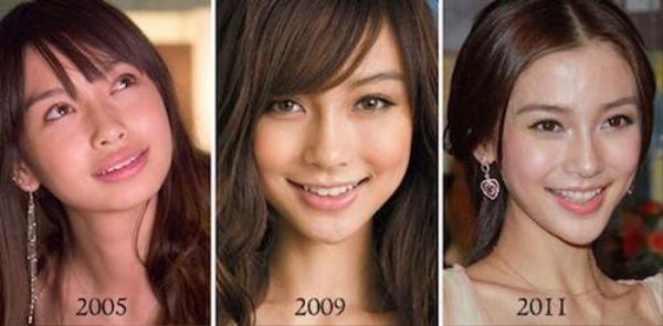 Hành trình thay đổi nhan sắc của Angela Baby từ khi gia nhập showbiz đến bây giờ.