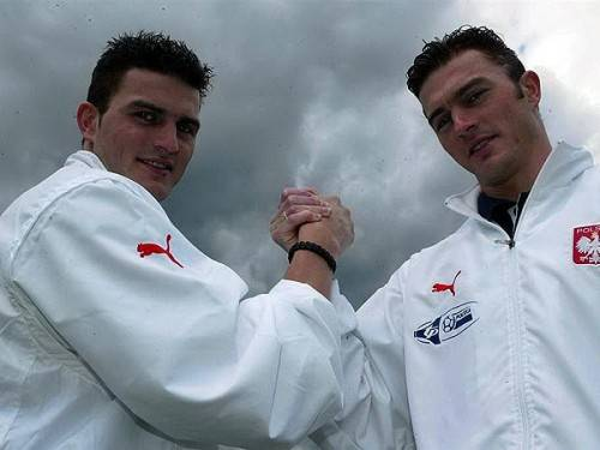 Anh em Michal và Marcin Zewlakow