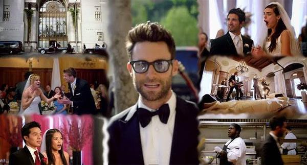 Mv Sugar của Maroon 5.