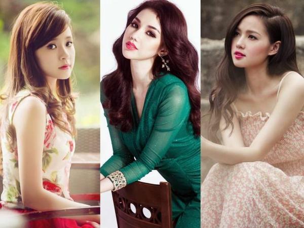 Những hot girl đời đầu đình đám của showbiz Việt.