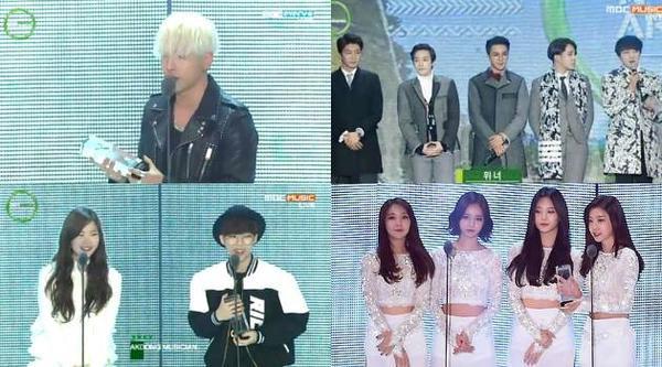 Melon Music Awards năm 2014.