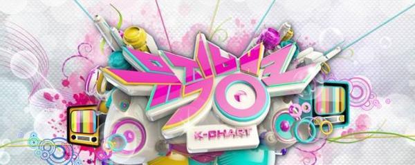 Music Bank - một trong những chương trình ca nhạc lớn của Hàn Quốc.