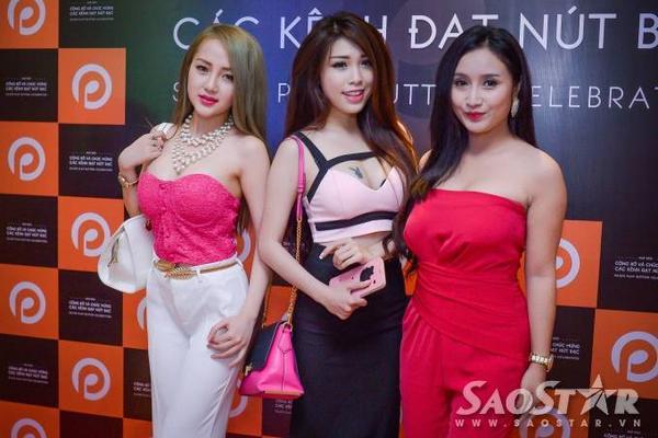 3 thành viên nữ khác của nhóm Ghiền Mì Gõ.