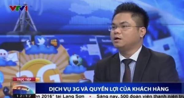 Luật sư Nguyễn Thanh Hải giải đáp thắc mắc về dịch vụ 3G và quyền lợi của khách hàng - (Ảnh chụp màn hình).