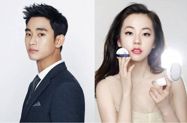 Kim Soo Hyun và Sohee bị đồn đang cặp kè.