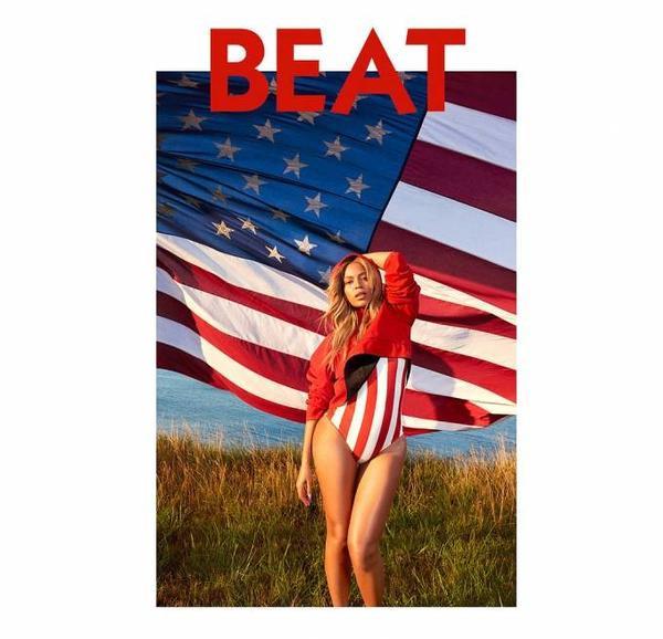 Beyonce vừa trở thành ngôi sao của tạp chí âm nhạc Beat số tháng 10/2015. Trong ấn phẩm này, nữ ca sĩ lần đầu tiên trả lời phỏng vấn sau 2 năm im ắng.