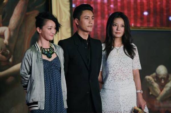 Châu Tấn và Triệu Vy bên cạnh Trần Khôn.