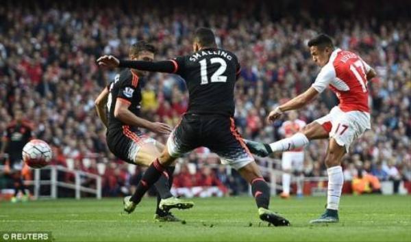 """Phong độ tuyệt vời của Sanchez khiến Real """"tham vọng"""" đem anh về đội."""