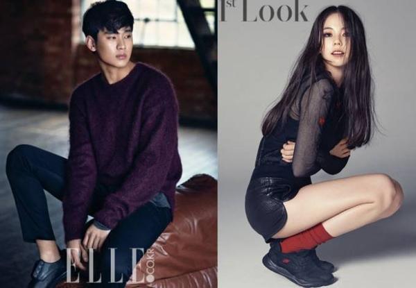 Kim Soo Hyun và Sohee bị đồn hẹn hò được 1 năm nay.