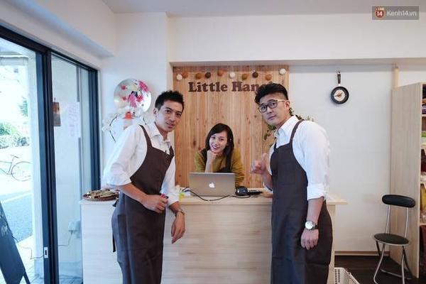 Linh Nhi từng đi làm thêm ở siêu thị nên có khá nhiều kinh nghiệm đứng thu tiền ở quầy.