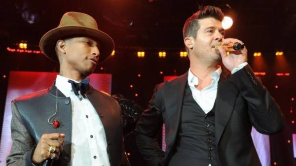 Robin Thicke Pharrell Williams
