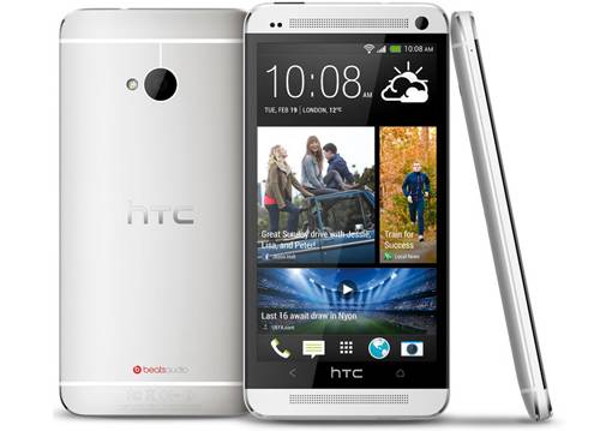 HTC One M7.