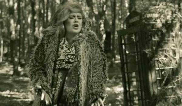 Hình ảnh trong MV Hello.