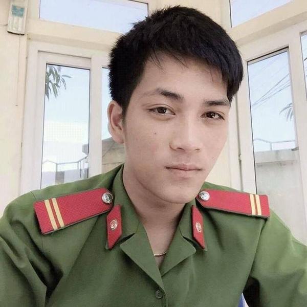 Chiến sĩ Võ Mạnh An hy sinh khi còn rất trẻ. Ảnh: Công an Nghệ An.