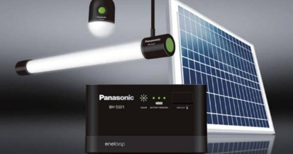 panasonic  Eneloop Solar Storage 3