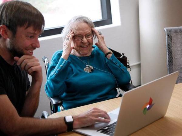Giấc mơ của bà đã trở thành hiện thực ở tuổi 97.