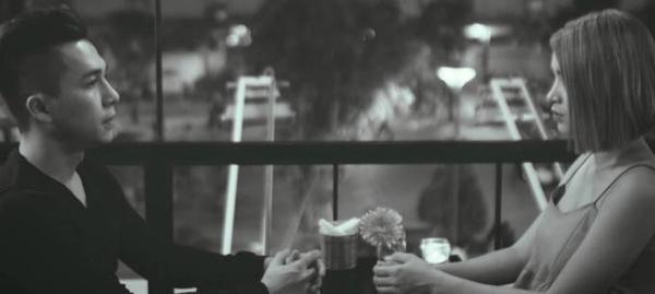 Hình ảnh Tiến Dũng và Hải Băng trong MV mới.