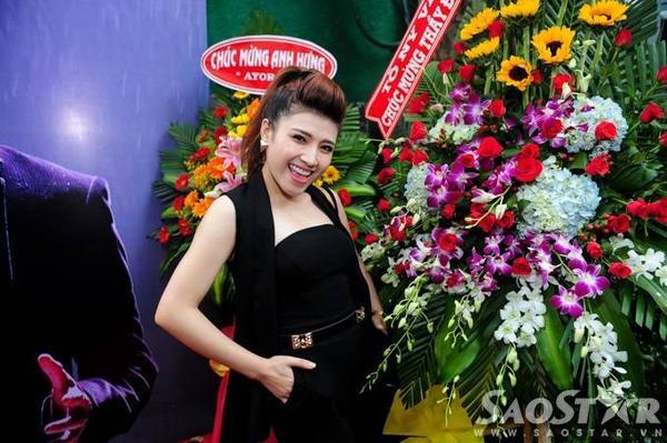 Tố Ny - á quân Giọng hát Việt 2015.