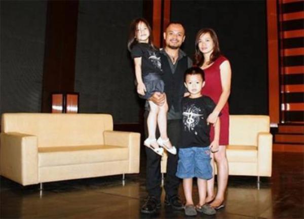 Gia đình nhỏ của Trần Lập từng gặp sóng gió.