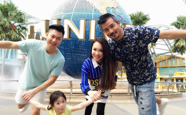 Phạm Văn Phương - Lý Minh Thuận tình cảm bên nhau khi đi vui chơi.