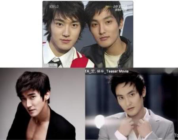 Si Won từ lâu đã được so sánh gương mặt có những nét tương đồng với đàn anh Kangta của nhóm H.O.T.