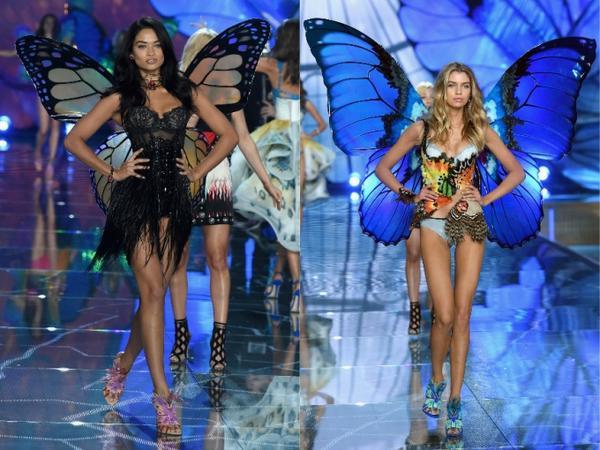 Shanina Shaik và Stella Maxwell là hai gương mặt tiêu biểu khoác lên mình những thiết kế cánh bướm thuộc chủ đề này đẹp nhất.
