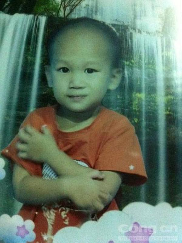 Di ảnh của bé Huy - Ảnh: Lê Huân.