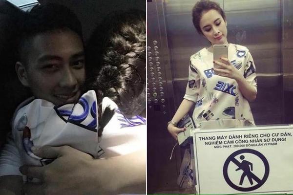 Hai tấm ảnh làm rộ lên nghi án tình cảm giữa Angela Phương Trinh và Thái Bá Nam.