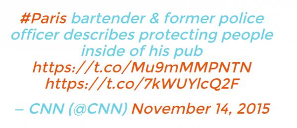 Nhiều nhân viên và ông chủ quán rượu còn bảo vệ, giúp khách tránh đạn khi đang có mặt trong cửa hàng.