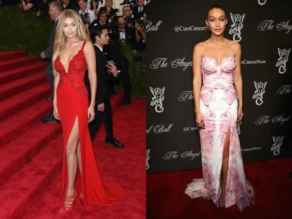 Gigi đẹp lộng lẫy trong hai thiết kế