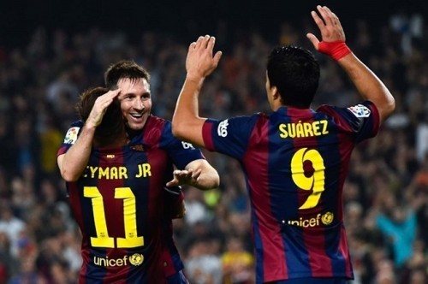 Messi - Neymar - Luis Suarez  (2)