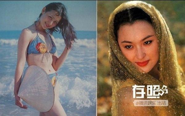 Vương Lộ Dao - nàng Miêu Nhược Lan của Tuyết sơn phi hổ bản Đài Loan - không chỉ là giai nhân quốc sắc thiên hương một thời trên màn ảnh mà còn là người mẫu ảnh lịch. Hình ảnh trên chụp từ năm 1991 khi cô tạo dáng với nón lá trên bờ biển Hải Nam.