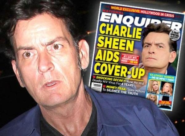 Charlie Sheen nhiễm HIV và sẽ công bố bệnh tật trên truyền hình.