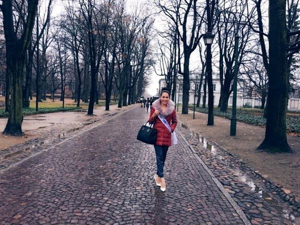 Le Quyen ngay dau den Ba Lan (3)