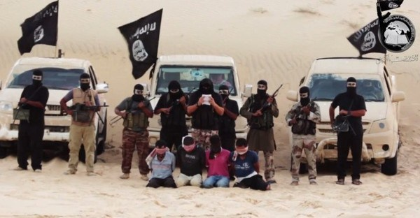 IS nổi tiếng tàn độc với những vụ tàn sát đẫm máu.