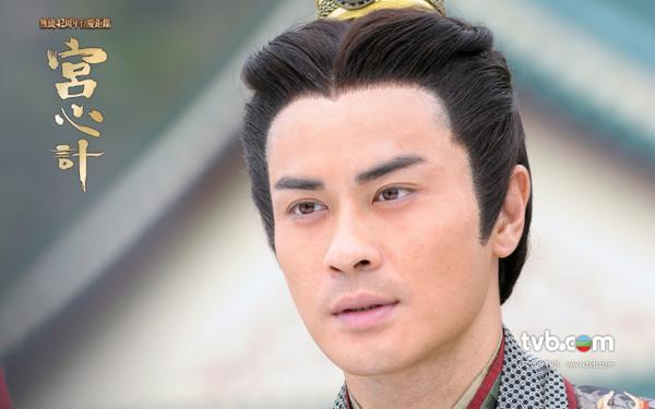 Vẻ phong trần của thị vệ Cao Hiển Dương đã đốn tim nhiều fan nữ.