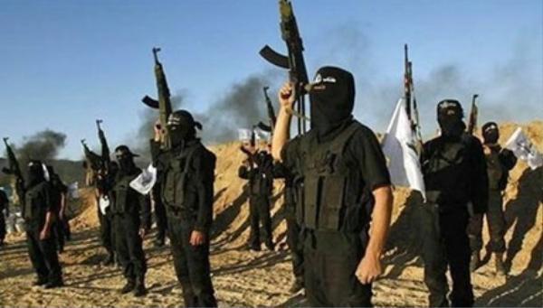 Các tay súng Hồi giáo IS.