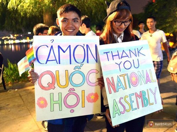 """Những dòng chữ trân trọng: """"Cảm ơn Quốc Hội""""."""