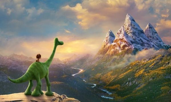 """Trong khi đó, """"The Good Dinosaur"""" không tạo ra cú đột phá đáng kể như những tiền bối trước đó."""