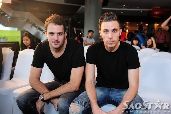 Cặp DJ W&W.