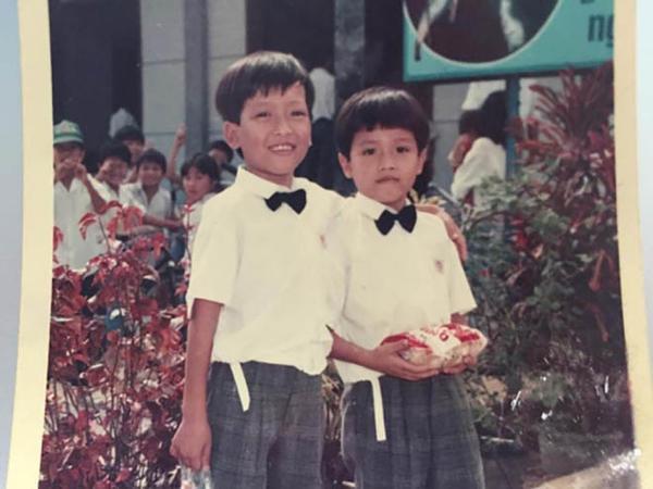 Trường Giang khi còn bé.