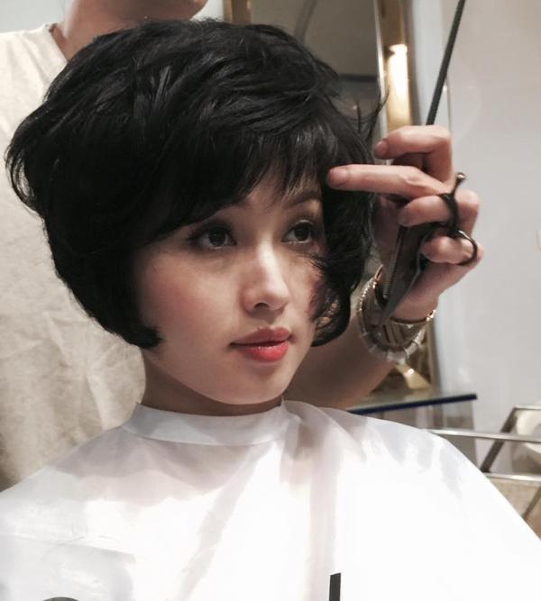 Hot girl Tâm Tít chọn Andre để thay đổi kiểu tóc sau bao năm trung thành với tóc dài